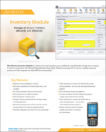 Microix Inventory Module fact sheet