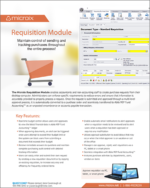 Microix Requisition Module fact sheet