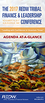 REDW Tribal Conference Agenda at-a-Glance