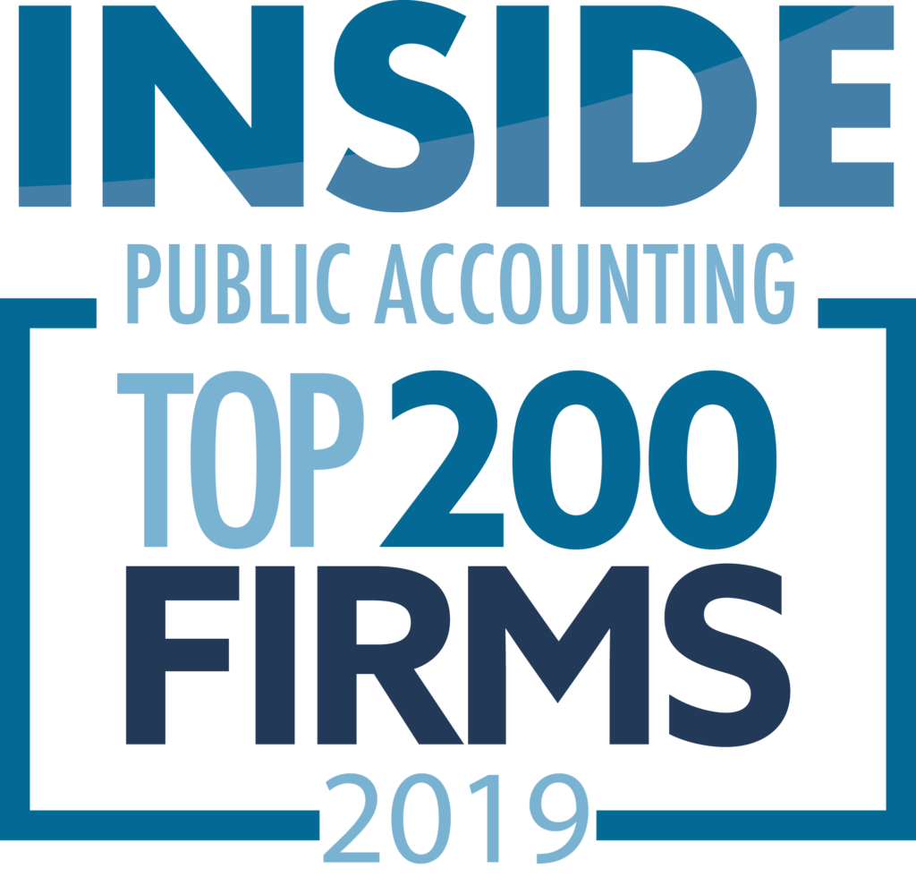 Inside Public Accounting Top 200 Firms 2019 logo