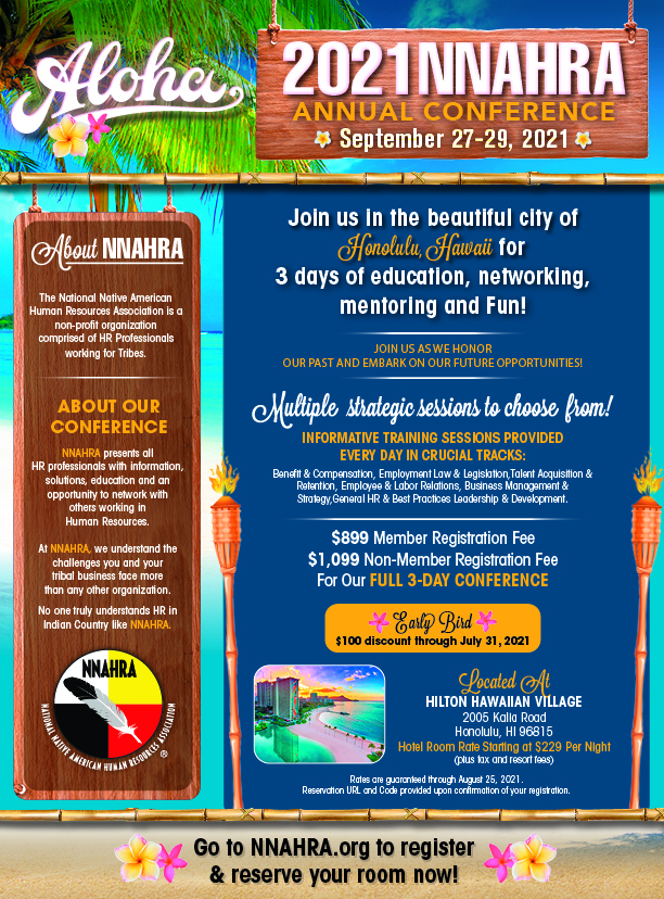 2021 NNAHRA Annual Conference details